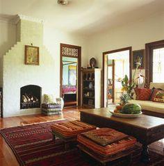 Salon w stylu indyjskim