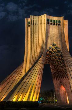 Azadi Tower (formerly Shahyad Tower) Tehran, Iran  Photo by Sina Samii