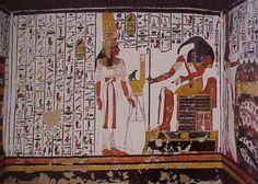 Tomb of Nefertari, niece of Nefertiti.