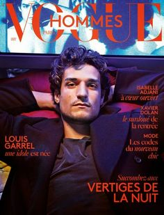 Louis Garrel for Vogue Hommes International... Next stop: France, met Garrel and then I can die happy and in peace!