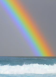 Rainbow,what the rainbow really means!! That Jehovah will never again flood the whole earth again. True from the Bible, not what men say.