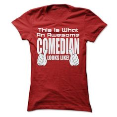 THIS IS AN AWESOME Comedian LOOKS LIKE T Shirts, Hoodie
