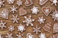 Photo about Gingerbread reindeer cookies and christmas decoration. Image of delicious, noel, christmas - 35316977 Christmas Chocolate, Christmas Candy, Christmas Baking, Christmas Treats, Santa Christmas, Holiday Treats, Gingerbread Reindeer, Gingerbread Decorations, Christmas Decorations