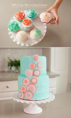 Um, yes please! We'd love to how to do that. #cake #decorating #frosting #diy http://www.creativebug.com/workshop/wilton-cake-decorating?utm_source=cb+wilton&utm_medium=fb&utm_campaign=1256&c_aid=121&c_crid=702
