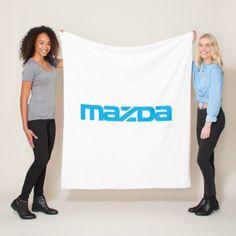 Mazda cover blank fleece blanket  $57.70  by DesignsByEnder  - custom gift idea
