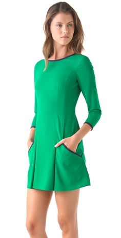 Very charming dress in a gorgeous color. Nonoo Long Sleeve Dress