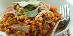 Recipe for Tuna and tomato risotto
