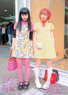 . . . Tokyo Street Fashion, Japanese Street Fashion, Japan Fashion, Grunge Style, Soft Grunge, Harajuku Fashion, Kawaii Fashion, Harajuku Girls, Pretty Outfits