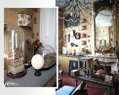 "Details of the showroom ""Vox Populi"" Vox Populi, Old Globe, Loft, Paris Apartments, French Chateau, French Interior, Decoration, Vignettes, Showroom"