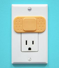 Ouchlet Outlet Cover  for when my friends get kids