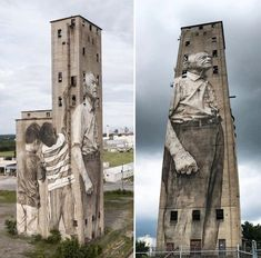 Nashville, Tennessee, USA: new piece by australian street artist Guido van Helten.