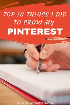 Emma with MeAndBMakeTea.com provides some Pinterest tips on how she grew her following and Pinterest presence.