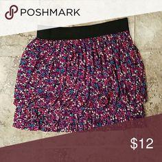 Floral express skirt,  size xs Floral mini Express Skirts Mini