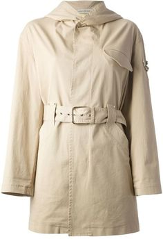 $1,610, Embellished Trench Coat by Ermanno Scervino. Sold by farfetch.com. Click for more info: http://lookastic.com/women/shop_items/161318/redirect