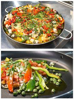 Paella. Los vegetales y el arroz siempre han sido el mejor complemento para todas tus recetas.