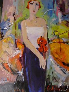 Intermission by George Hamilton - Zantman Art Galleries - Fine art gallery in Carmel, CA George Hamilton, Fine Art Gallery, Galleries, Art Art, Portraits, Paintings, Art, Art Gallery, Paint