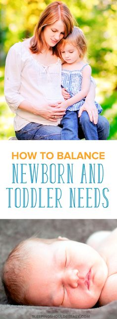 Are you expecting your second child? Caring for a newborn AND a toddler takes some juggling. Here are some tips on balancing a toddler and newborn. Even includes a FREE printable Toddler Tasks and Chores to encourage self-sufficiency and independence! #newborn #newbornbaby