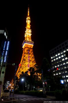 Tokyo Tower @justonecookbook
