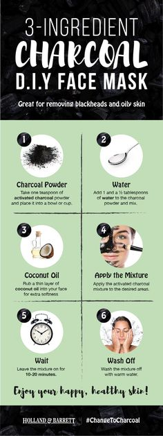 DIY face masks can be easy to make but give some great results - all from the comfort of your own home  This activated charcoal mask is one of our personal faves - it's sooo soothing on the skin! #ChangeToCharcoal