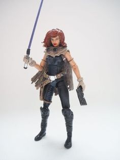 Mara Jade (Star Wars) Custom Action Figure