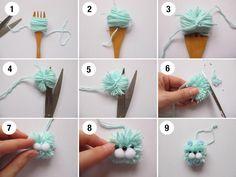 Jak zrobić pomponowego zwierzaka