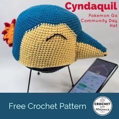 8c0cae5e717 Pokemon Cyndaquil Hat - Free Crochet Pattern