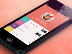 Flat Mobile UI Design and UX-1