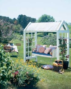 How to make a Swing Structure & hang from your Pergola.