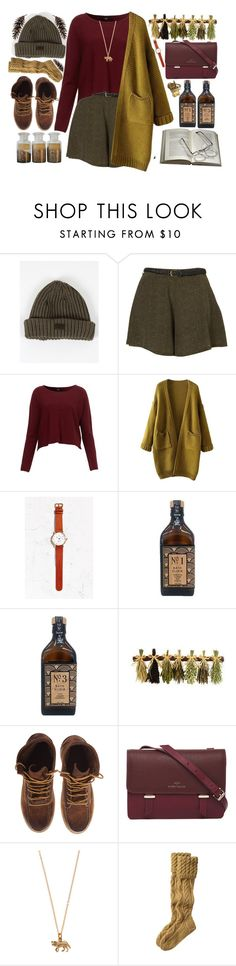 """Ellen"" by living-colorfully ❤ liked on Polyvore featuring moda, L'Homme Rouge, Triwa, Karen Walker, Vernissage, Toast e Alkemie"