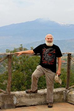 Dr. Weil on Mt. Etna on a recent birthday celebration vacation.  This is what 70 can look and be!