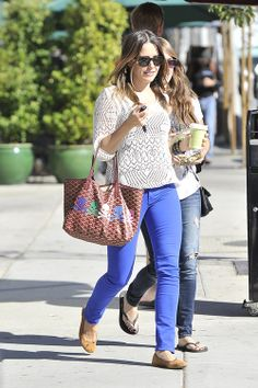 Sophia Bush adds a pastel punk edge to her Goyard Tote - Page 6 of 7 - PurseBlog