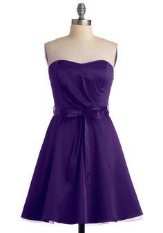 Zest is More Dress in Purple, #ModCloth