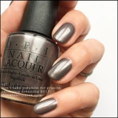 OPI Don't Take Yosemite For Granite – OPI California Dreaming 2017