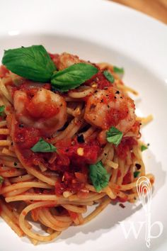 shrimp fra diavlo. ‹ Serves 4. ‹ 1lb large shrimp, peeled & deveined1 tsp salt1 tsp dried crushed red pepper flakes3 tbs olive oil, plus 1-2 tbs1 medium onion, diced1 (14.5 oz) can crushed tomatoes1 cup dry white wine3 garlic cloves, chopped1/4 tsp dried oregano leaves3 tbs chopped fresh Italian parsley3 tbs chopped fresh basil leaves ‹ Toss the shrimp in a bowl with 1 tsp salt and red pepper flakes. Heat the 3 tbs oil in a heavy large skillet over medium-high heat. Add the shrimp and sauté…