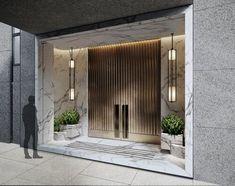 Modern Entrance Door, Main Entrance Door Design, Modern Front Door, Front Door Entrance, Front Door Design, House Entrance, Modern Exterior Doors, House Front Door, Double Door Design
