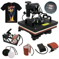 bd110899 10 TOP 10 BEST HEAT PRESS MACHINES IN 2018 REVIEWS images | Best ...