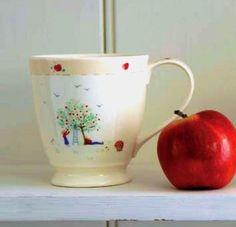 Caroline Zoob Apple Picking Mug