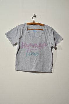Croptee Summer Time - Remera Corta