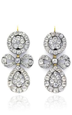 3 In 1 Georgian Paste Earrings by SIMON TEAKLE for Preorder on Moda Operandi