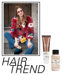 """""""Untitled #70"""" by safasugureta ❤ liked on Polyvore featuring beauty, Bumble and bumble, Phyto, hairtrend and rainbowhair"""