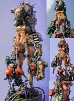 Character Concept, Character Art, Concept Art, Character Design, Arte Gundam, Post Apocalyptic Art, Cyberpunk Character, Sci Fi Characters, Designer Toys