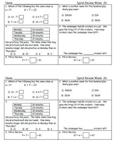 4th Grade Math Worksheets, Math Tutor, Math Test, Third Grade Math, Second Grade, Olympiad Exam, Math Olympiad, Maths Paper, Spiral Math