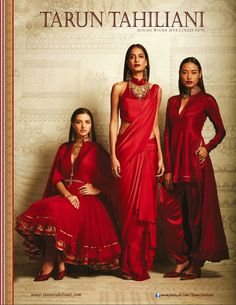 Tarun Tahiliani - Autumn Winter 2014 Collection - Vogue India - September 2014