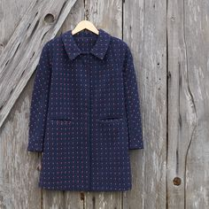 Channel your French countryside chic in a peacoat fit for Madeline.