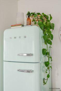 Vintage Appliances, Kitchen Appliances, Retro Apartment, 50s Kitchen, Retro Fridge, Own Home, Decoration, Midcentury Modern, Home Kitchens