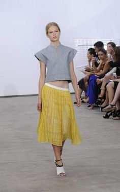 Derek Lam goes for a playful vibe for spring