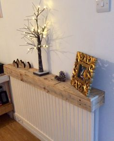 Pallet radiator shelf More