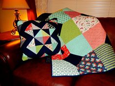 Quilting Mod by Afton Warrick: Layers of Charm Blog Hop with Fat Quarter Shop