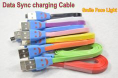 Micro USB Cable Data Sync Charging Charger Lighting Light Cable for Samsung Galaxy S6 S3 S4 for HTC for Smartphone Cell Phone