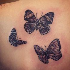 black & grey butterflies by Stevie Jean  #steviejeanflowers